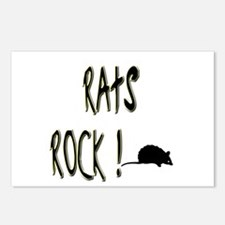 Rats Rock ! Postcards (Package of 8)