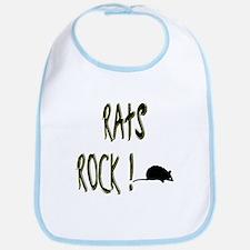 Rats Rock ! Bib