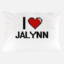 I Love Jalynn Digital Retro Design Pillow Case