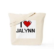 I Love Jalynn Digital Retro Design Tote Bag