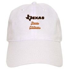 Texas Press Officer Baseball Cap