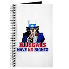 Illegals Have No Rights Journal