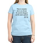 Mark Twain 14 Women's Light T-Shirt
