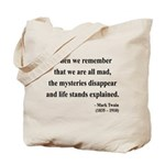 Mark Twain 14 Tote Bag