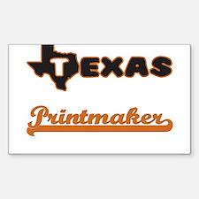 Texas Printmaker Decal