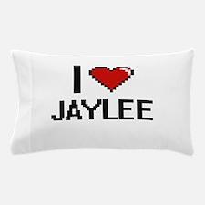I Love Jaylee Digital Retro Design Pillow Case