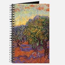 Van Gogh Olive Grove, Orange Sky Journal