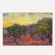 Van Gogh Olive Grove, Ora Postcards (Package of 8)