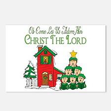 Christmas Carol Series Postcards (Package of 8)
