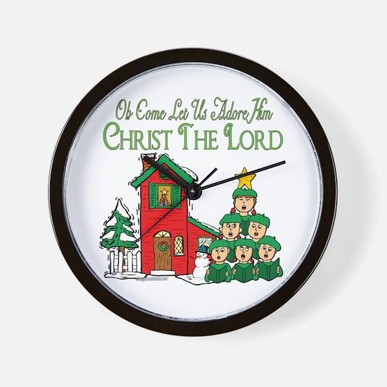 Christmas Carol Series Wall Clock