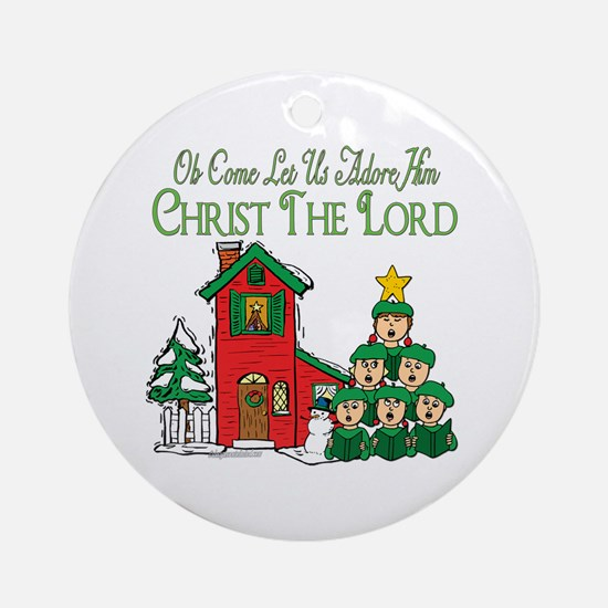 Christmas Carol Series Ornament (Round)