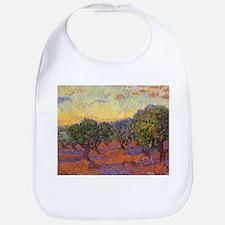 Van Gogh Olive Grove, Orange Sky Bib
