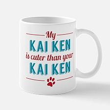 Cuter Kai Ken Mugs