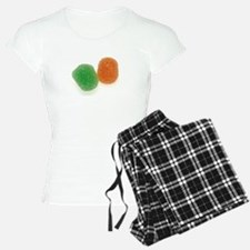 Orange and Green Gumdrops Pajamas