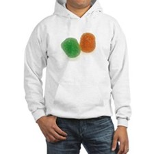 Orange and Green Gumdrops Hoodie