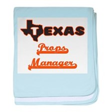 Texas Props Manager baby blanket
