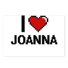 I Love Joanna Digital Ret Postcards (Package of 8)