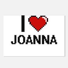 I Love Joanna Digital Ret Postcards (Package of 8)