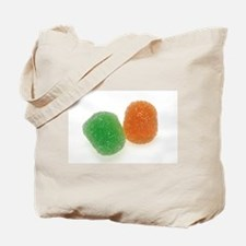 Orange and Green Gumdrops Tote Bag
