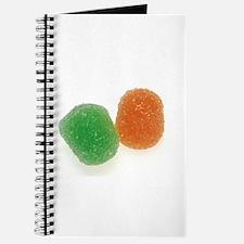 Orange and Green Gumdrops Journal