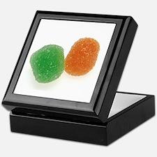 Orange and Green Gumdrops Keepsake Box