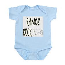 Rhinos Rock ! Onesie