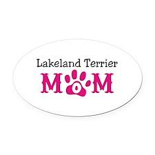 Lakeland Terrier Oval Car Magnet