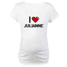 I Love Julianne Digital Retro De Shirt