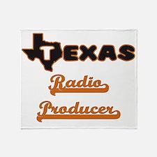 Texas Radio Producer Throw Blanket