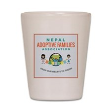 Nepal Adoptive Families Association Shot Glass