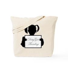 Cute Girl dirty Tote Bag