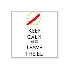 Keep Calm and Leave the EU Sticker