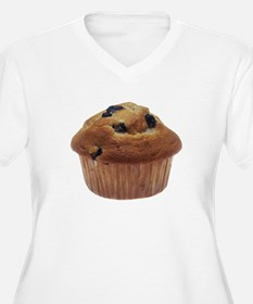 Blueberry Muffin Plus Size T-Shirt