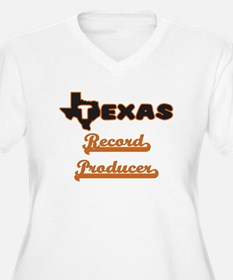 Texas Record Producer Plus Size T-Shirt