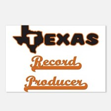 Texas Record Producer Postcards (Package of 8)
