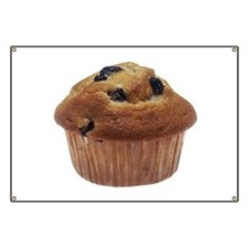 Blueberry Muffin Banner