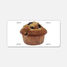 Blueberry Muffin Aluminum License Plate