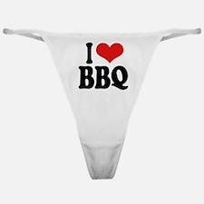 I Love BBQ Classic Thong