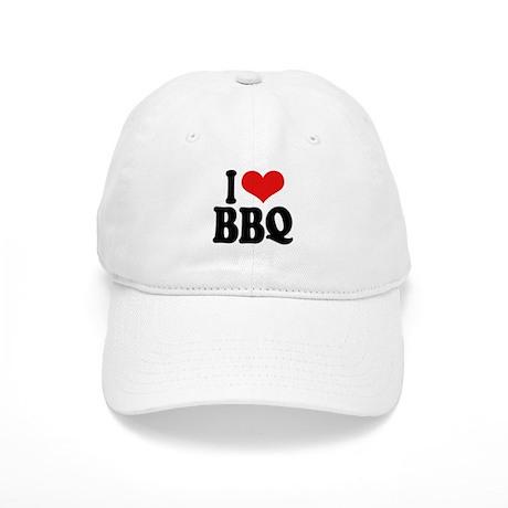 I Love BBQ Cap