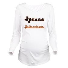 Texas Reflexologist Long Sleeve Maternity T-Shirt