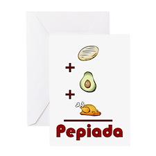Cute Avocado Greeting Card