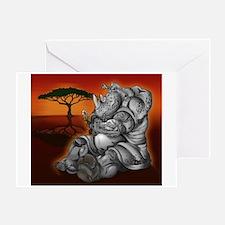 Cool Savanna Greeting Card