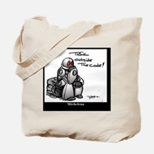 Cute Robots Tote Bag