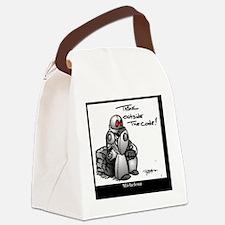 Unique Robot Canvas Lunch Bag