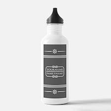 Gray Nautical Rope Per Water Bottle