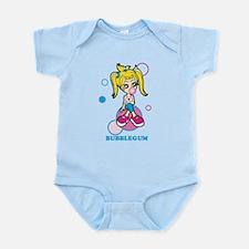 Bubble Gum Girl Infant Bodysuit