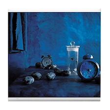 Blue Study Tile Coaster