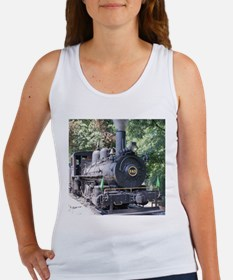 steam train close up shot Tank Top