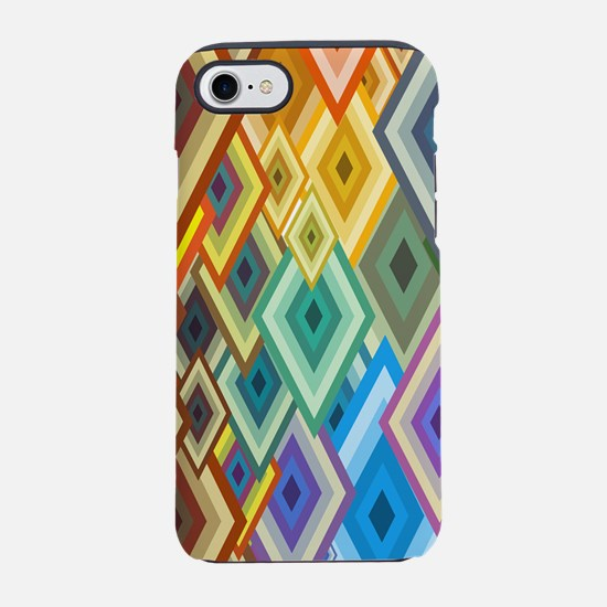 Geometrical Shapes Background iPhone 7 Tough Case
