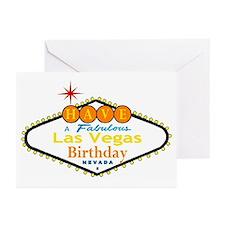 Have A Fabulous Las Vegas Birthrday Cards pkg 10